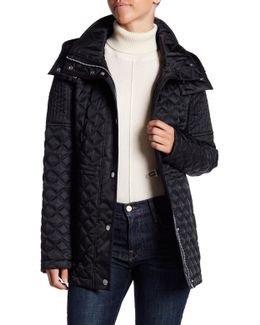 Calypso Quilted Removable Hood Jacket