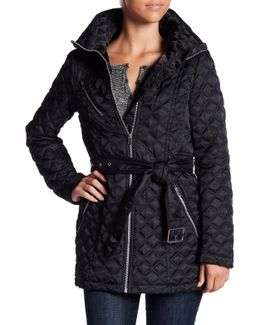 Cassidy Quilted Packable Hood Jacket