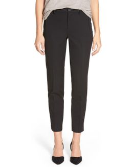 Nichelle Stretch Woven Ankle Pant