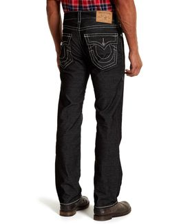 Straight Leg Flap Pocket Corduroy Pants