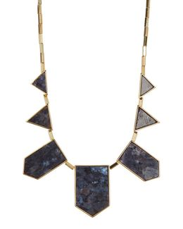 Geometric Shape Frontal Statement Necklace