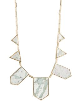 Stone Station Necklace