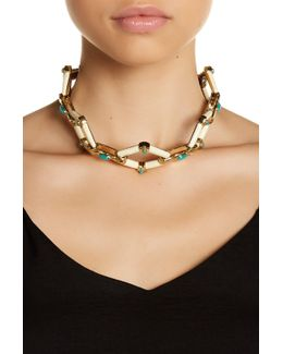 Valda Stone Statement Necklace