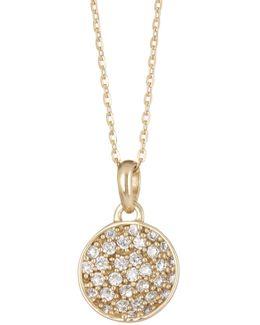14k Gold Plated Ezra Moonstone Necklace