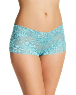 Angela Floral Lace Boy Short - Set Of 2