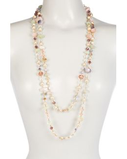 Mix Beaded Rope Necklace