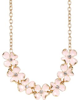 Statement Floral Frontal Necklace