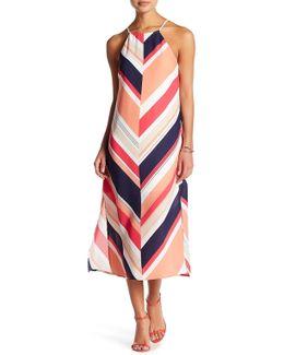 Lace-up Back Shift Dress (petite)