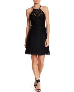 Halter Lace Dress (petite)