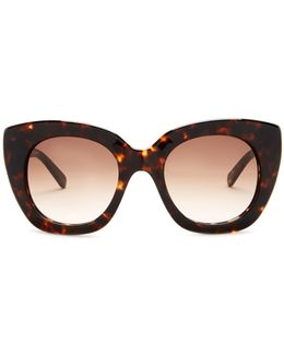Women's Plastic Cat Eye Sunglasses