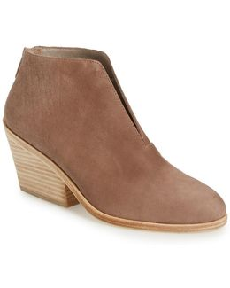Nelson Split Shaft Block Heel Bootie