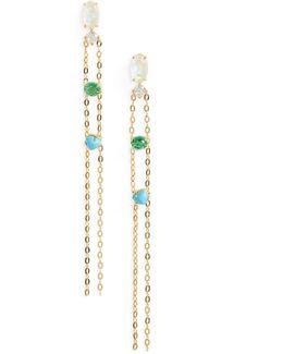 Fizzy Chain Drop Earrings