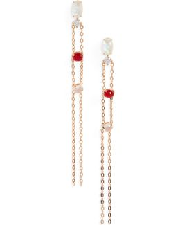 Fizzy Chain Drop Earrings