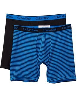 Classic Fit Boxer Briefs - Pack Of 2