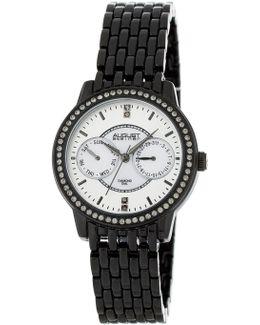 Women's Quartz Multi-function Swarovski Crystal Watch
