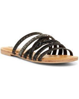 B Me Strappy Beaded Sandal