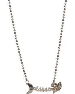 "Sterling Silver Little Words 'taken"" Pendant Necklace"