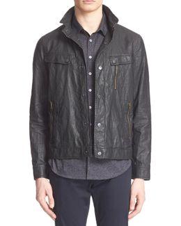Waxed Linen Jacket