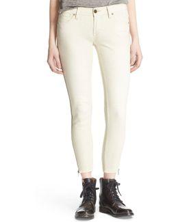 'levon' Zip Skinny Jean