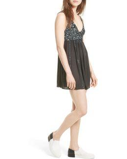 Glitter Girl Minidress