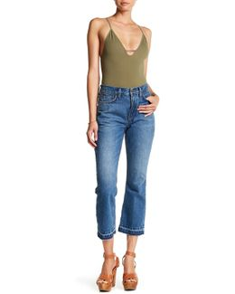 Cropped Bootcut Jean