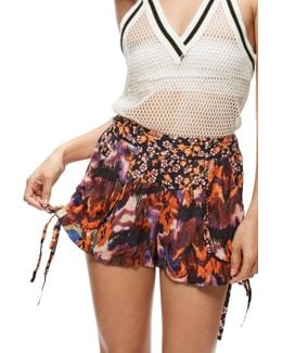 Lisbon Mixed Print Short