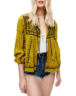 Twilight Embellished Cotton Jacket