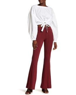 Essential Fitted Flare Leg Jeans