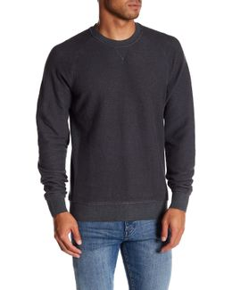 Terry Front Sweater