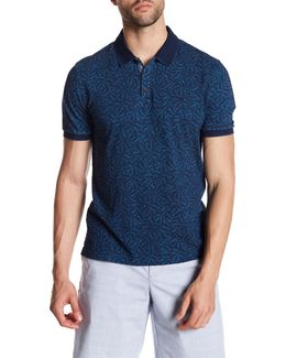 Printed Heritage Slim Fit Polo