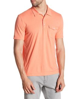 Smack Heather Effect Heritage Slim Fit Polo