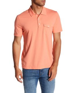 Smack Heather Effect Slim Fit Polo