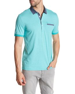 Fine Stripe Heritage Slim Fit Polo