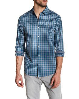 Check Long Sleeve Slim Fit Shirt