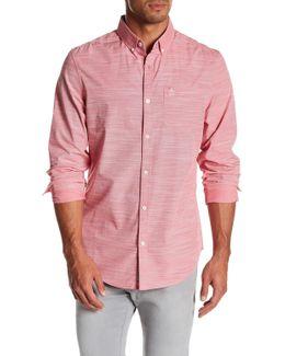 Slub End On End Slim Fit Shirt