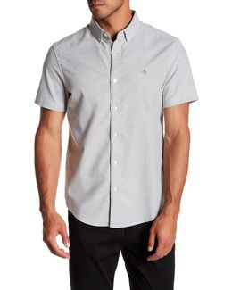 Short Sleeve Updated Core Oxford Slim Fit Shirt