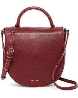 Parasm Vegan Leather Saddle Bag