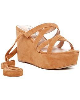Parker Platform Wedge Sandal