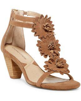 Patino Floral T-strap Sandal