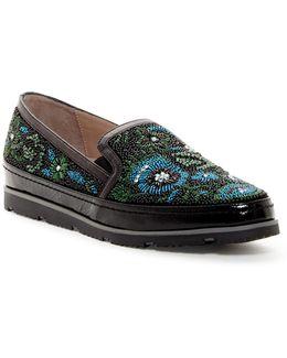 Perly Beaded Slip-on Sneaker