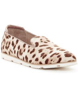 Pesach Genuine Calf Hair Slip-on Sneaker
