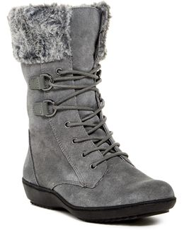 Pinelands Faux Fur Trim Boot