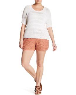 Crochet Short (plus Size)