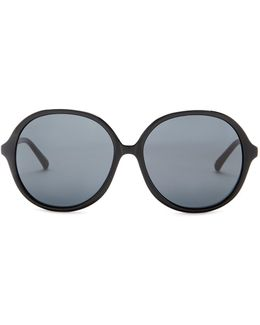 Womens' Oversized Round Sunglasses
