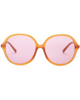 Women's Oversized Round Sunglasses