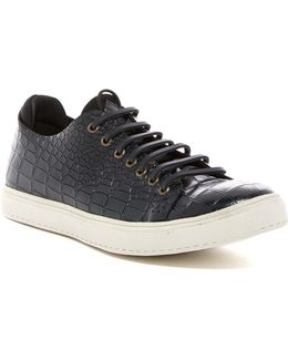 Prenton Croc Embossed Sneaker
