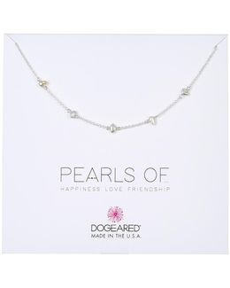 Pearls Of Love Happiness Friendship 4mm Keshi Pearl Necklace