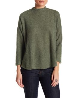 Mock Neck Knit Sweater (petite)