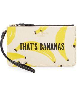 That's Bananas Slim Bee Clutch