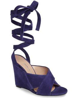 Quest Wraparound Ankle Tie Sandal
